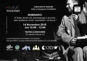 Seminario 14 Novembre 2015