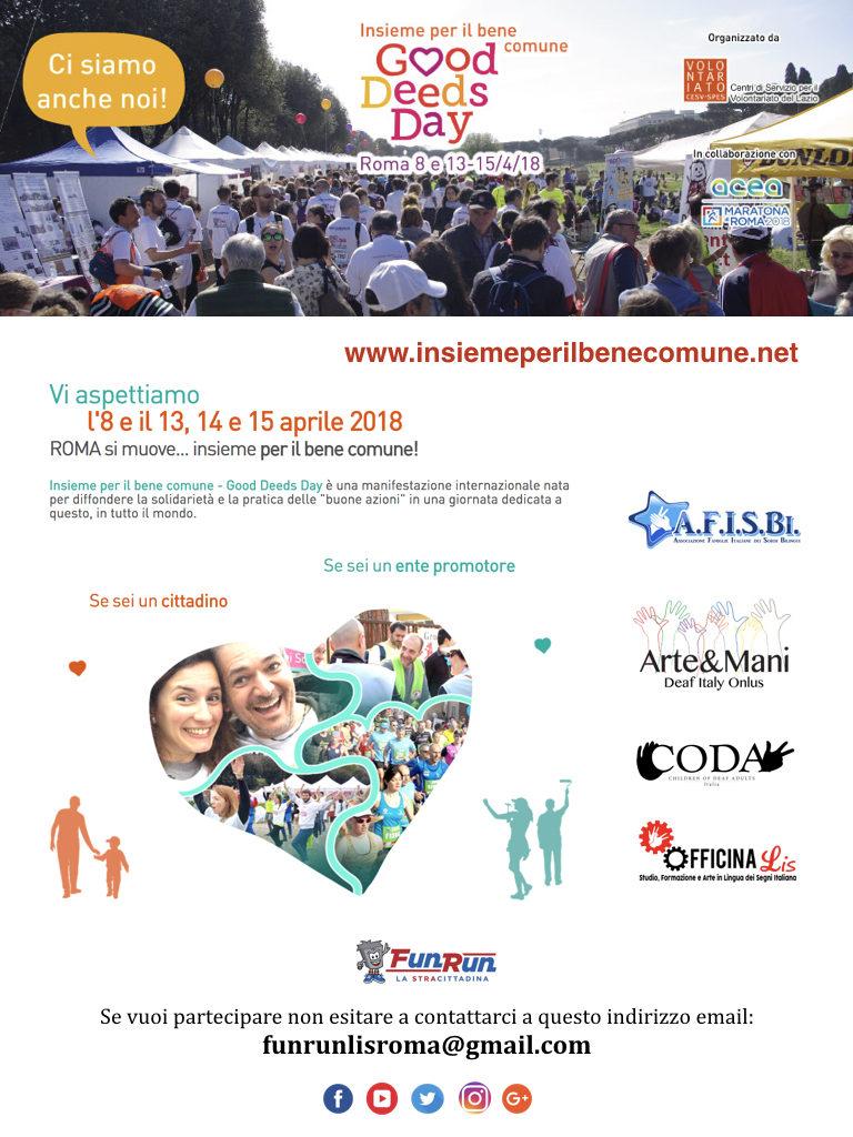 Locandina Good Deeds Day 2018.001