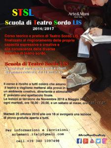 """Scuola di Teatro Sordo LIS"""" 2016/2017"""