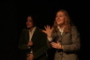 """24 - 25 Gennaio 2014, Teatro Il Cantiere, Roma (debutto) – """"Oltre gli Occhi"""""""