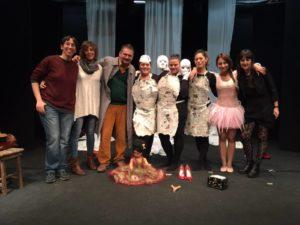 14-15 Novembre 2015, Teatro Le Maschere a Roma. Routine