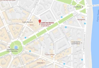 Teatro San Genesio - Via Podgora, 1, 00195 Roma