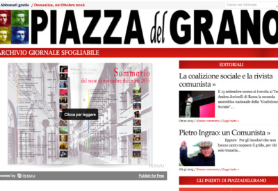 Articolo: Piazza del Grano