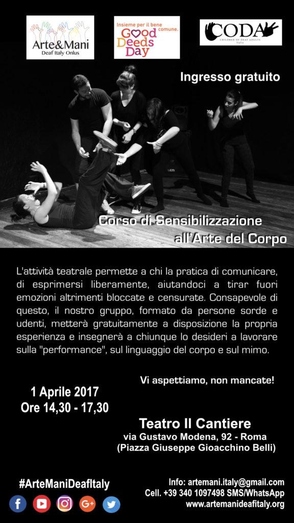 Locandina1 good dedds day 2017 corso.001