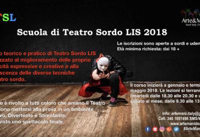 Scuola di Teatro Sordo LIS 2018